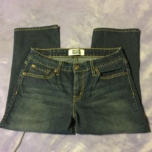 Signature by Levi Strauss & Co. Cropped Jeans